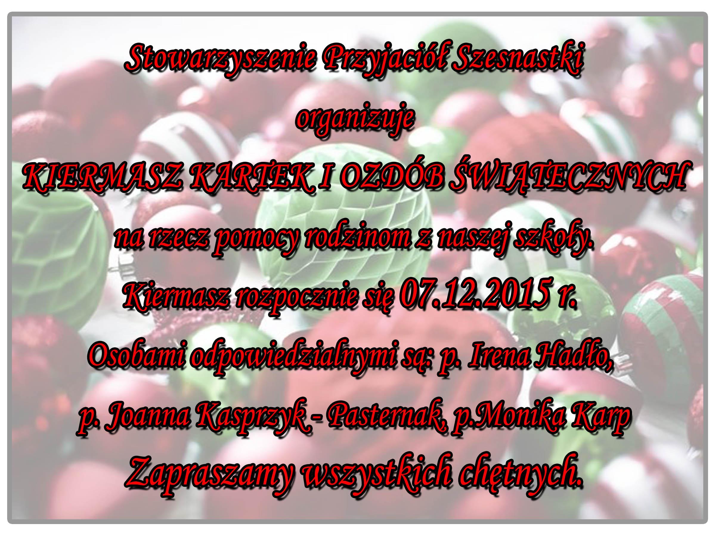 Stowarzyszenie Przyjaciół Szesnatski czerwone